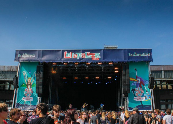Die Alternative-Stage beim Lollapalooza-Festival 2015