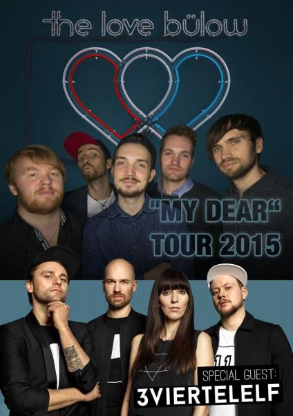 The Love Bülow auf Tour mit 3viertelelf