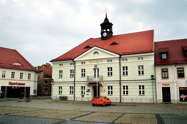 Rathaus der Stadt Ortrand