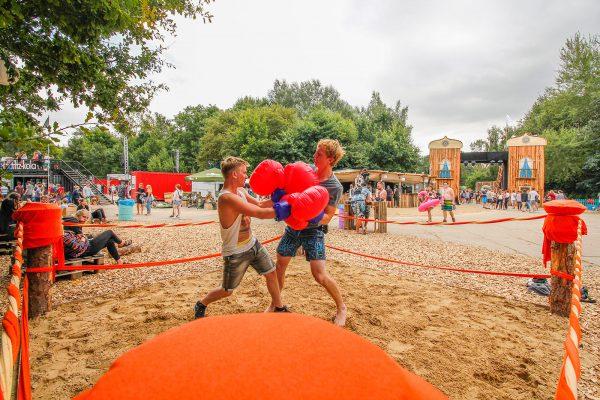Das Pangea-Festival ist wie ein großer Spielplatz für Kinder und Kindgebliebene.