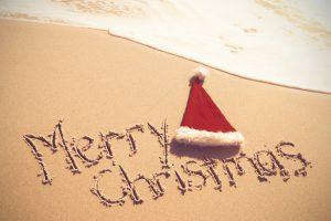 Sommer, Sonne, Strand und Weihnachten