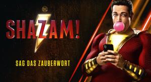 """Gewinnspiel zum Kinostart """"SHAZAM"""""""