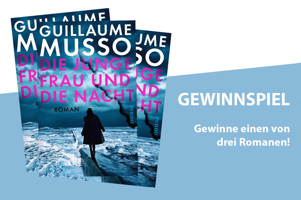 """Gewinnspiel: Roman """"Die junge Frau und die Nacht"""" (Release: 04. Juni)"""