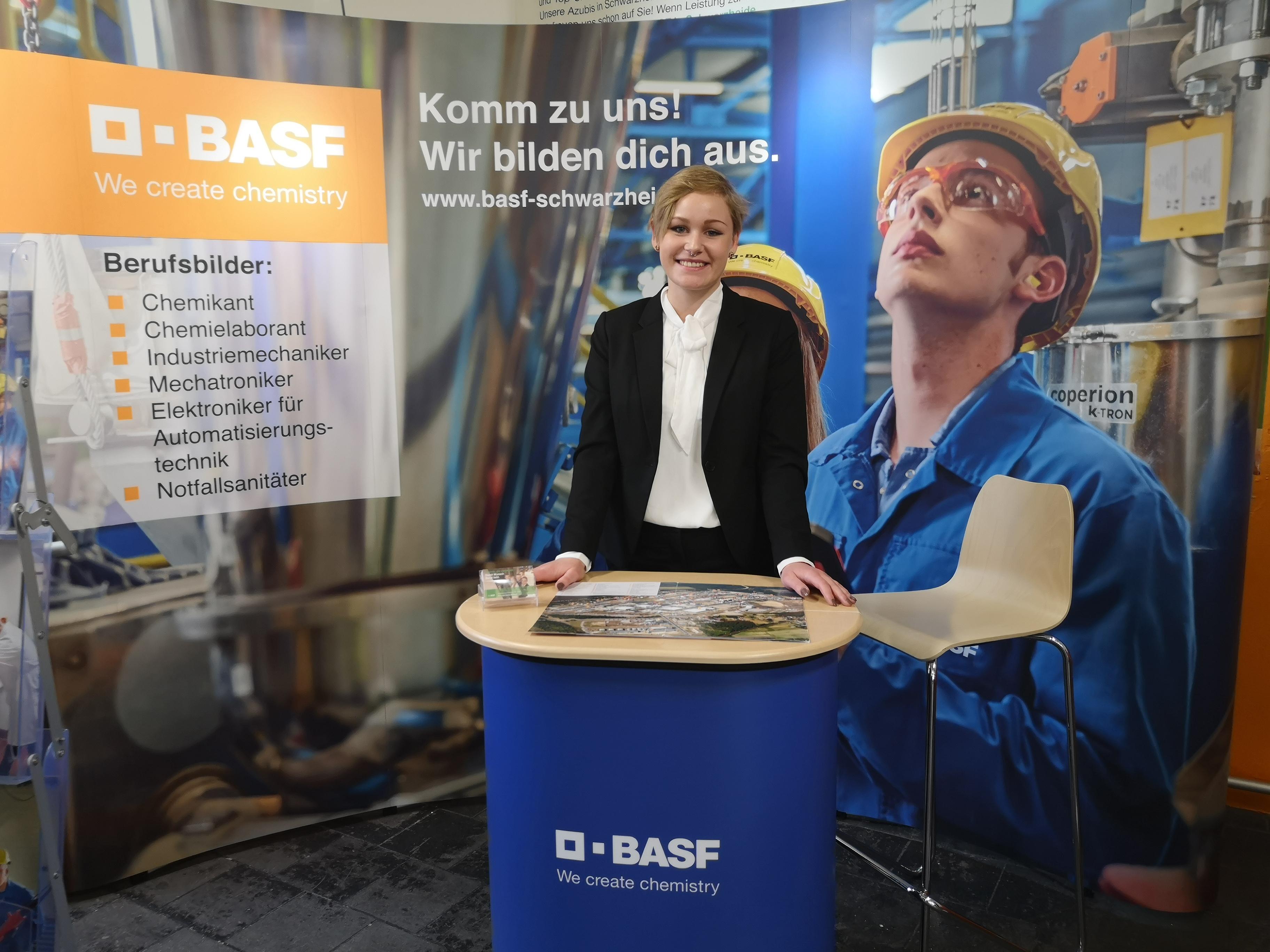 Interview mit der BASF Auszubildenden Sarah Kopf