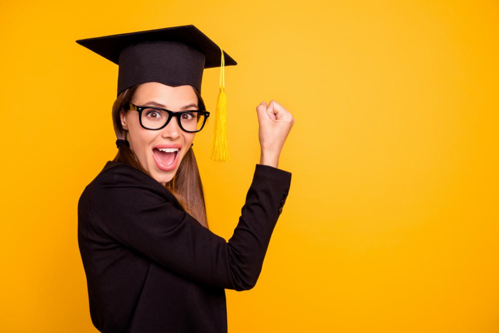 Mit deinem Abschluss den Abschluss in der Tasche