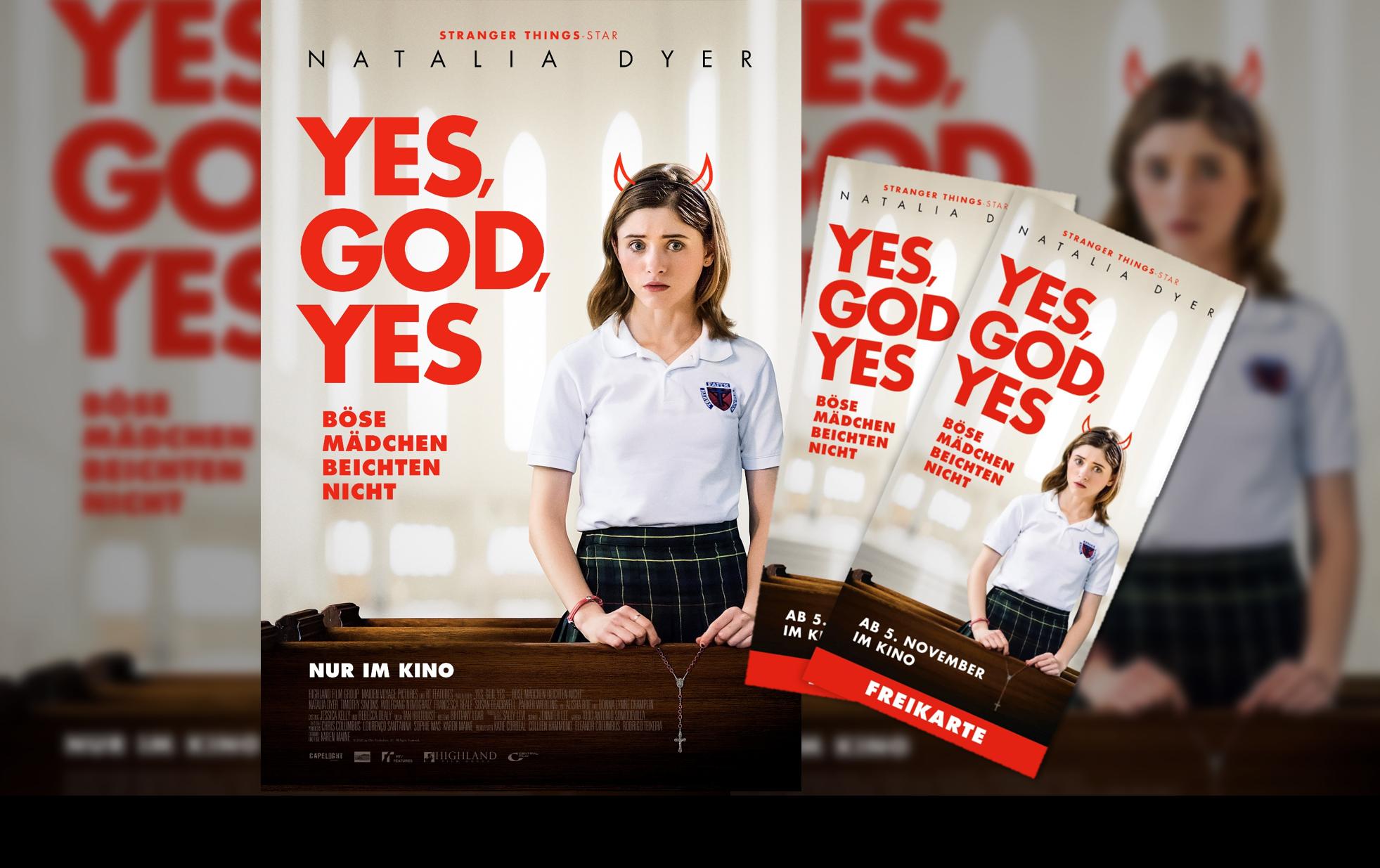 """Gewinnspiel & Filmkritik zu """"YES GOD YES – Böse Mädchen beichten nicht"""""""
