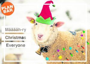 PLANBAR-Weihnachtskarten zum Verschicken