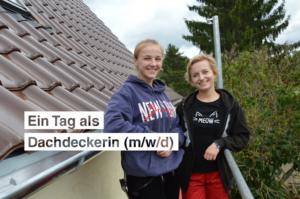 Ein Tag als Dachdeckerin (m/w/d)